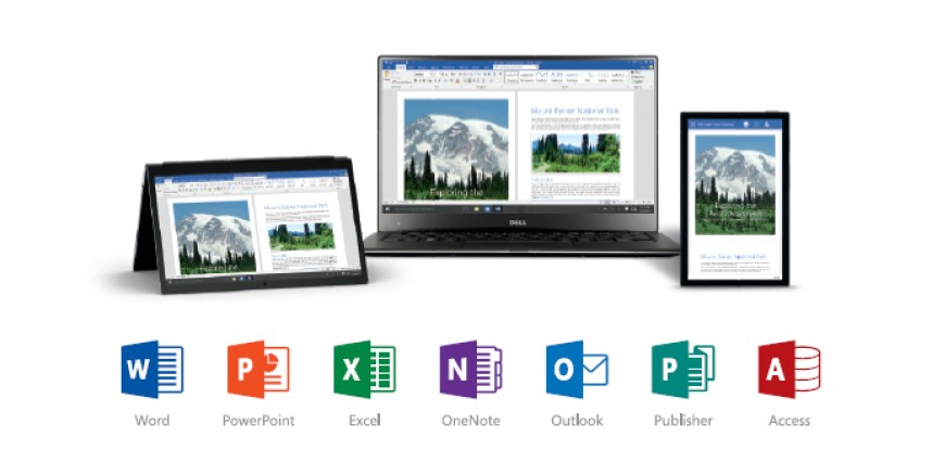 What is the difference between the Office Suite 2013 and 2016?